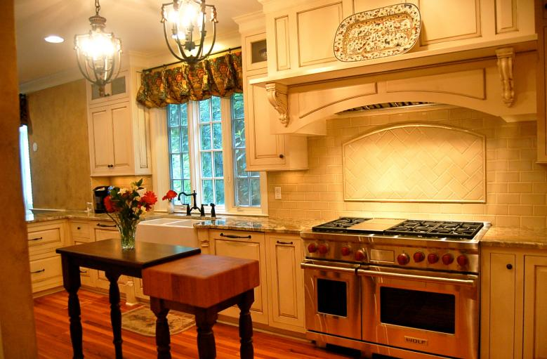 distressed kitchen cabinets   Cabinet Creations